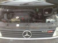Merc Vito 108CDI Engine