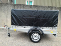 CAMPING TRAILER/ BRAND NEW BOX TRAILER 6,8FT x 3,8FT - 750KG UNBRAKED