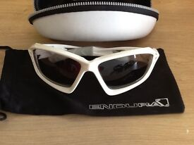 A pair of new cased Endura cycling glasses