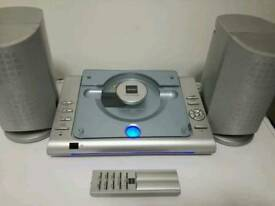 Bush LSD33 Flatbed CD Micro System in excellent working with remote