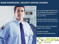 DOOR SUPERVISOR / SECURITY OFFICER COURSES