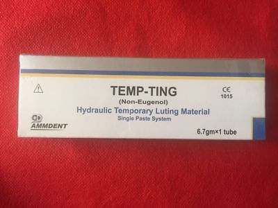 Ammdent Dental Temp-ting Non Eugenol Temporary Luting Cement Single Paste System
