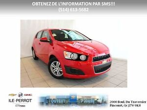 2016 CHEVROLET SONIC 5 LT CAMERA, TURBO, MAGS, AUTO,