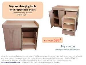 Daycare furniture - Changing table - online shop