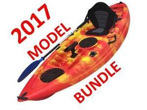 2017 MODEL OCEAN FISHING KAYAK MEGA BUNDLE FREE TROLLEY+LEASH Port Adelaide Port Adelaide Area Preview