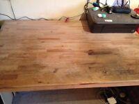 Pine kitchen table/desk