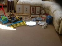 Car boot sale items, job lot, surplus household items, bargain price