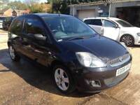 ** NEWTON CARS ** 08 FORD FIESTA 1.25 ZETEC CLIMATE, 3 DR, ATI, 100,000 MLS, ALLOYS, MOT DEC 2018