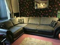 Corner sofa and love chair