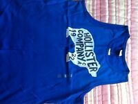 HOLLISTER TANK TEE NEW LARGE