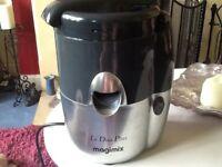 Magimix Le Duo Plus juicer, citrus press and coulis maker
