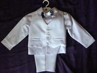 BABY BOY WHITE CHRISTENING SUIT