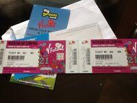 2 V festival tickets for Weston park