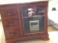 YEw wood stereo housing unit