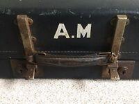 Vintage Leather Look Suitcase
