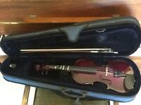 Knight Junior Violin and case