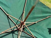 Garden sun parasol