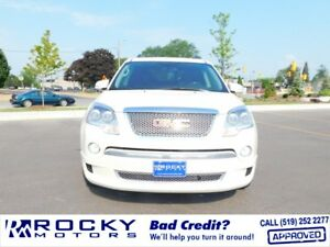 2012 GMC Acadia Denali - BAD CREDIT APPROVALS