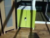 IKEA Stuva cupboard with green doors