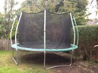 12 ft TP trampoline, 3 years old, hardly used