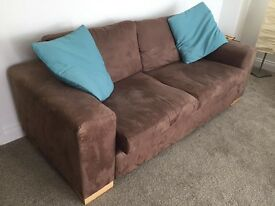 3 Seater Sofa & Matching Armchair
