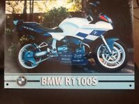 BMW r 1100 s in Randy Mamola paint only selling as want BMW RT so sell or swop