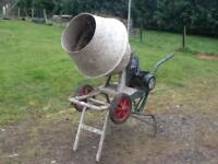 Old style cement mixer