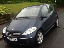 2007 MERCEDES A180 CDI AVANTGARDE WITH LEATHER
