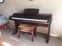 Technics PCM digital ensemble PR307 electric piano excellent condition with stool