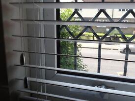 Venetian blinds white faux wood 50mm slats