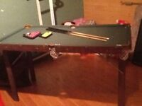 SNOOKER TABLE 4 ft 6 ins