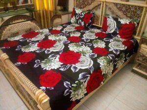 Queen size 3D bedsheets