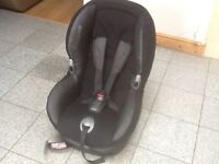 For 9kg upto 18kg(9mths to 4yrs)Maxi Cosi Priori car seat-reclines,is washed and cleaned-£35