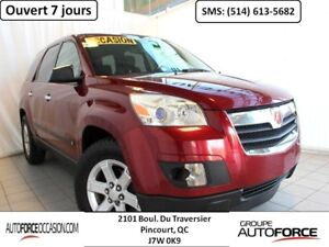 2007 Saturn Outlook XE AWD 8 PASS DUAL ZONE MAGS BAS KM TOUTE EQ