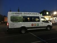 CHEAP MINIBUSES & COACH HIRE WITH DRIVERS: 4 to 73 Seaters. Pay by Card. Low Deposits. Free Quotes.