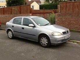 Vauxhall astra 1.6 litre..long MOT