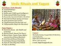 Priest available for Pujas and Yagyas