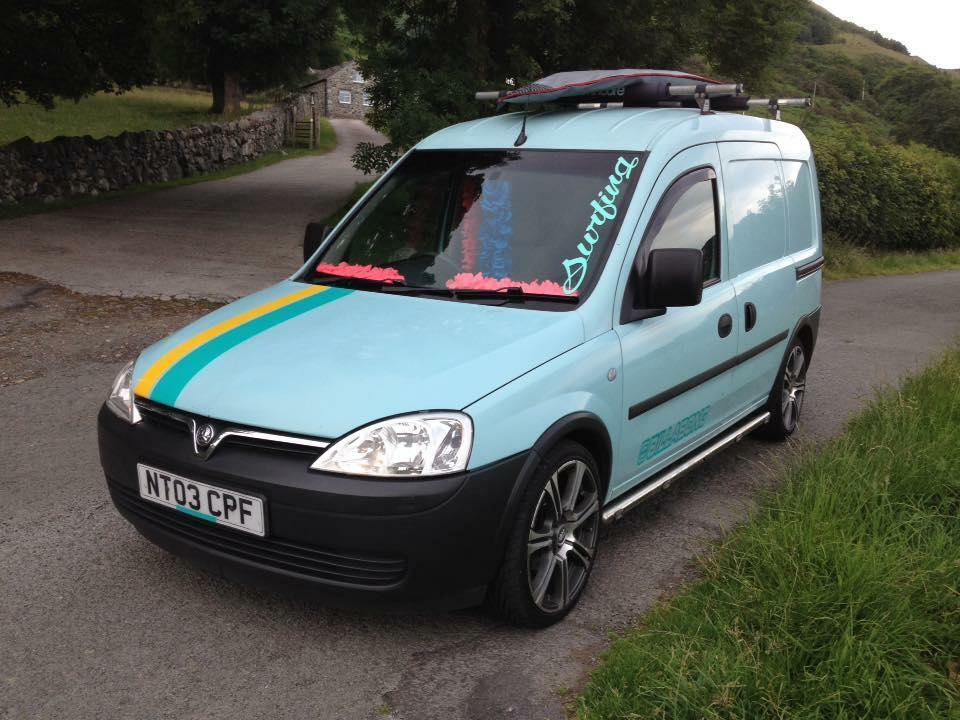 Vw Campervan For Sale >> vauxhall combo 1300 cdti 65 mpg 10 months mot surf bus camper | in Penmaenmawr, Conwy | Gumtree