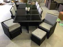 13 pcs 12 SEAT OUTDOOR dining set LARGEST CUBE TABLE Hendon Charles Sturt Area Preview