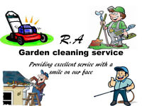 R.A Garden cleaning services/ Spring cleaning/ providing excellent service with a smile on our face