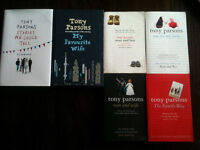 4 Tony Parsons Books - One for My Baby, Man & Wife, The Family Way & My Favourite Wife