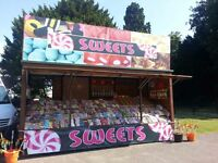 Catering sweet Trailer for sale stocked up ready to work*