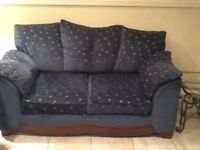 3&2seater sofas great condition from smoke and pet free home needs collecting next week £80