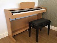 Piano Yamaha YDP140C digital piano, light cherry finish