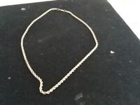 heavyweight Solid 9ct gold rope chain