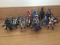 Schleich knight bundle and catapults