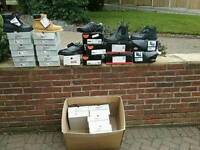 SAFETY BOOTS MID CUT + TRAINER TYPE FOOTWEAR VARIOUS SIZES