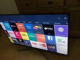 "Samsung 48""smart fullHD WiFi freeview built in 1080p"