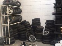 job lot scooter and 125 wheels and tyres