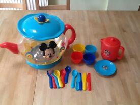 Large Disney Tea set